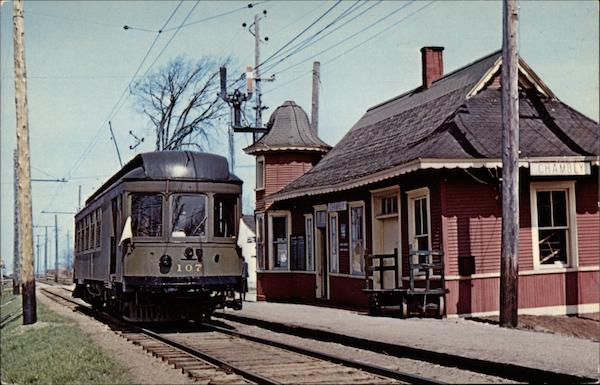 Montreal and Southern Counties Express/Passenger Iterurban Car No. 107 Canada