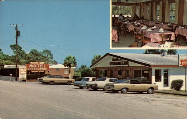 Martha Ann's Restaurant, Lounge, Package Store and Motel Carrabelle Florida