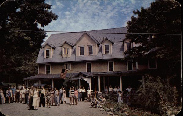 Strickland's Mountain Inn Mount Pocono Pennsylvania
