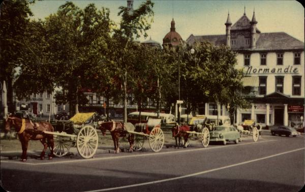 Carriages and Place D'Armes Canada Quebec