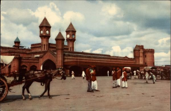 Railway Station Lahore Pakistan