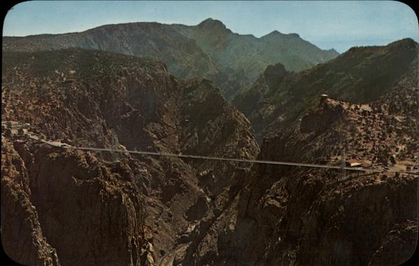 Bridge Over the Royal Gorge Canon City Colorado