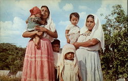Maya Indian Women and Children
