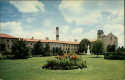 St. Francis Monastery and College Postcard