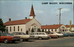 Main Exchange and Chapel, Camp McCoy