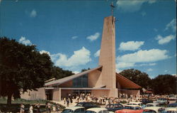 Our Lady Queen of Peace Roman Catholic Church Postcard