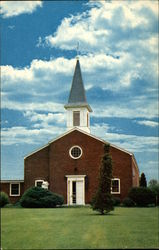Chapel Veterans Administration Center Postcard