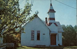 Oysterville Baptist Church Postcard