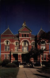 Franklin County Courthouse Postcard