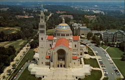 Aerial View of the National Shrine of the Immaculate Conception
