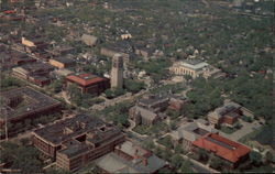 University of Michigan: Aerial View of the Mall