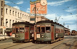New Orleans Public Service - Trolley Cars