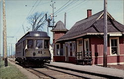 Montreal and Southern Counties Express/Passenger Iterurban Car No. 107