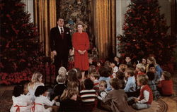Christmas at the Reagan White House, 1981