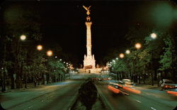 Independence Monument, Known as the Angel Postcard