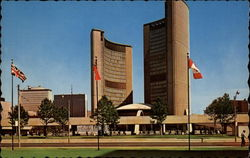 City Hall and Nathan Phillips Square Postcard