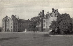 Denstone College, Staffordshire - View from the South Postcard