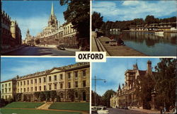 Views of Oxford Postcard