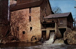 The Old Oxford Water Power Mill