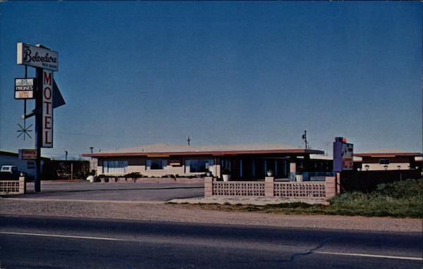 The New Belvedere Motel Red Bluff California