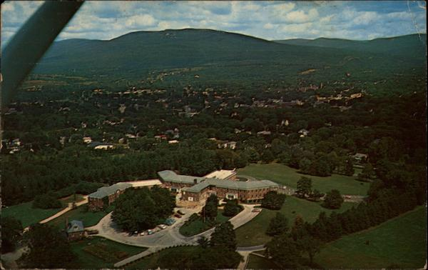 Aerial View of the Henry W. Putnam Memorial Hospital Bennington Vermont