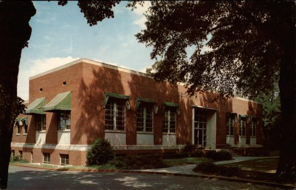 Elbert Ivey Memorial Library Hickory North Carolina