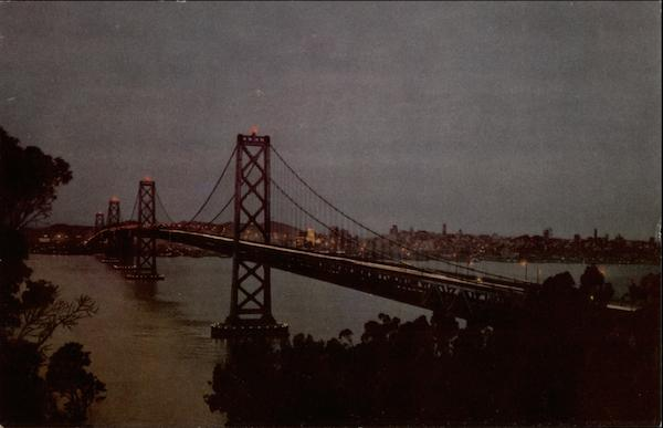 Union Oil Company's Natural Color Scenes of the West San Francisco California