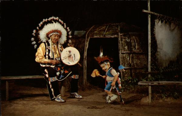 Youngest Contest Dancer, Stand Rock Indian Ceremonial Wisconsin Dells