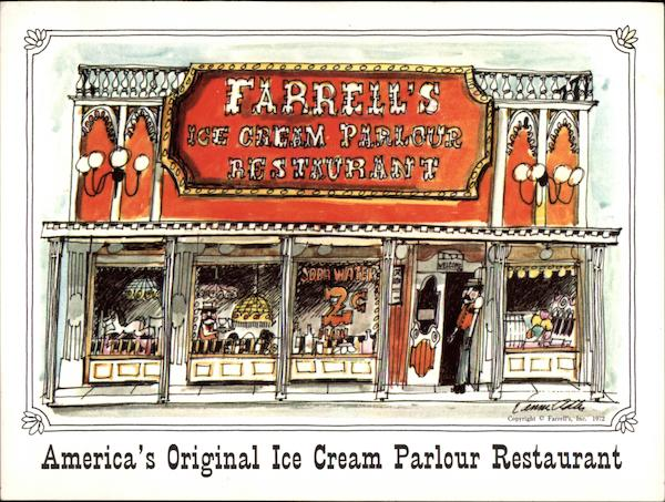 America's Original Ice Cream Parlour Restaurant Restaurants