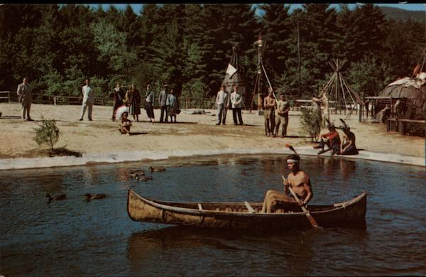 Indian Village Lake George New York Native Americana