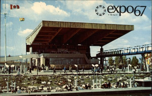 The Atlantic Provinces, Expo 67 Montreal Canada Quebec