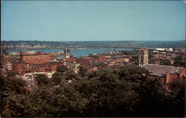 A View of Dubuque Iowa
