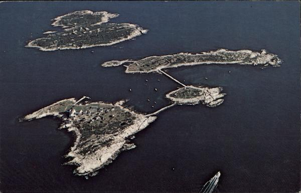 Aerial View, Isles of Shoals, NH/ME Portsmouth New Hampshire