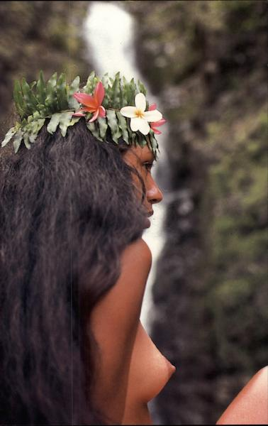 Hawaiian Maiden Risque & Nude