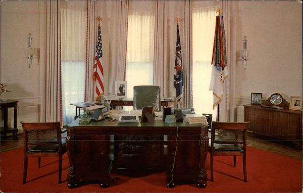The Oval Office Washington District of Columbia