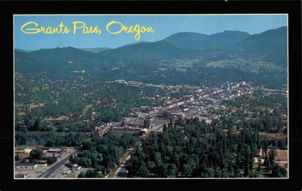 Aerial View of Grants Pass - All American City Oregon