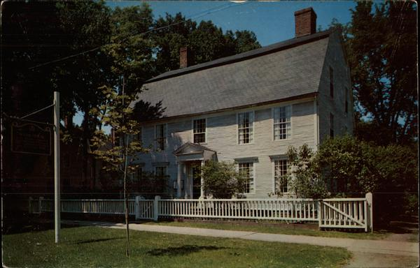 The Webb House Wethersfield Connecticut