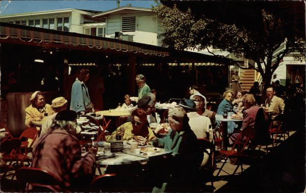 Original Farmers Market, Outdoor Dining Hollywood California