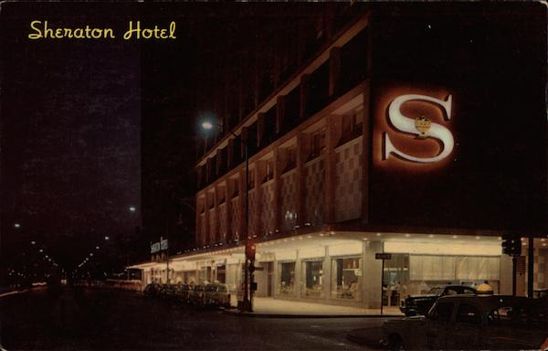 Sheraton Hotel at Night Philadelphia Pennsylvania