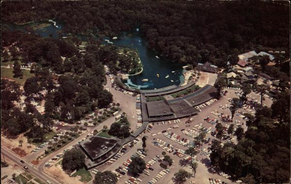 Aerial View Silver Springs Florida