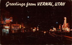 Greetings From Vernal, Utah
