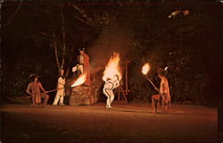 Indian Flame Dance