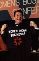 President Reagan at the Business Women's Conference