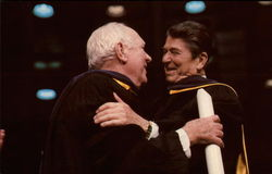 President Ronald Reagan and Pat O'Brien