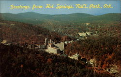 Greetings from Hot Springs National park