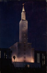 Temple of Church of Jesus Christ of Latter Day Saints Postcard