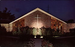 Night View of St. Thomas More Student Chapel