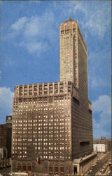 Chicago Civic Opera Building Postcard