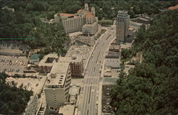 Aerial view of Central Ave