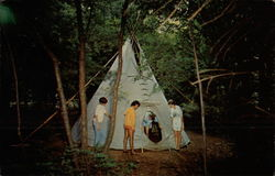 Tepee at Sessions Woods